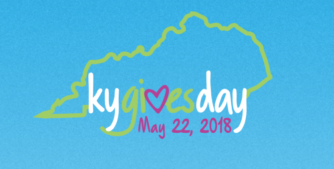 Today is Kentucky Gives Day 2018
